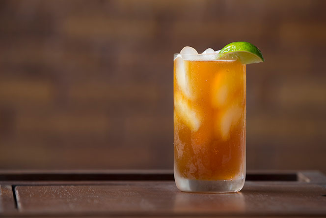 Dark and Stormy Cocktail Recipe - He Spoke Style