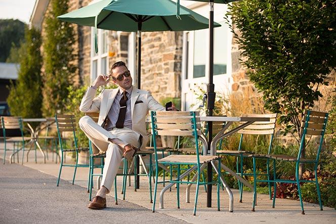 Seersucker Suit: Business - He Spoke Style