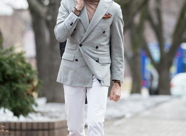 Winter Whites - He Spoke Style