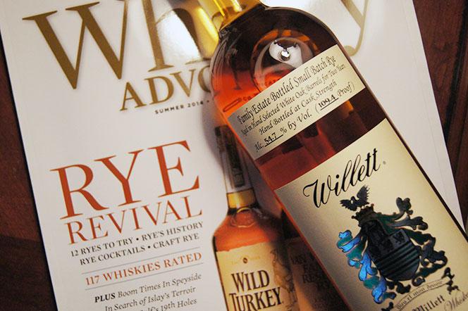 Willett 2 Year Rye Whiskey Review - He Spoke Style