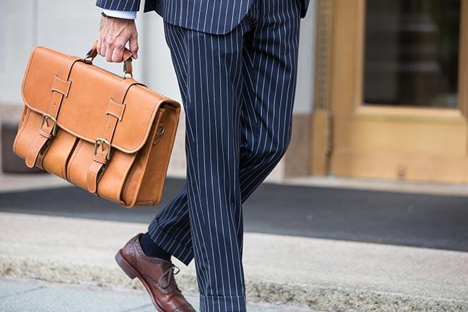 Korchmar Briefcase - He Spoke Style