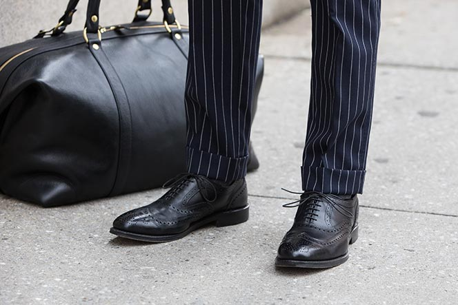 Allen Edmonds McAllister Wingtip Shoes - He Spoke Style