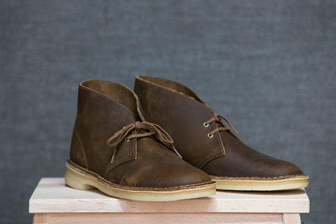Best Fall Boots for Men Brown Leather Chukka Boot Clarks Desert Boot - He Spoke Style