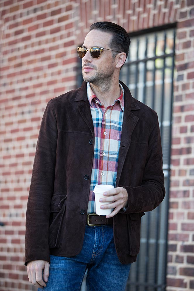 Plaid Flannel Shirt for Men - He Spoke Style