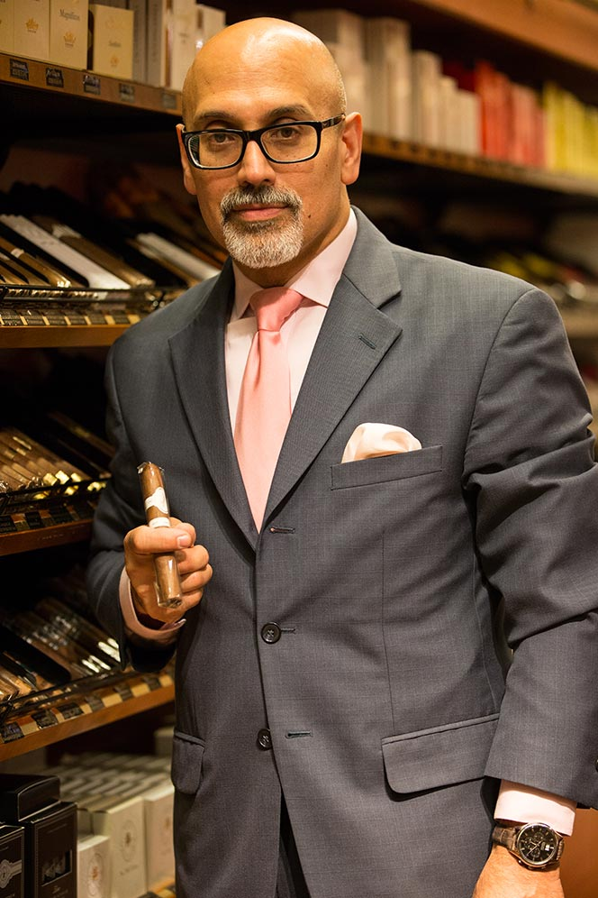 Robert Seise of Davidoff of Geneva Madison Avenue - He Spoke Style