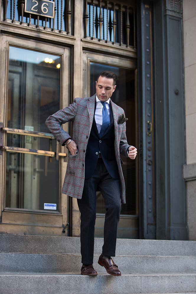 mens-wool-overcoat-topcoat-plaid-outfit-ideas-winter-business-blazer-tie
