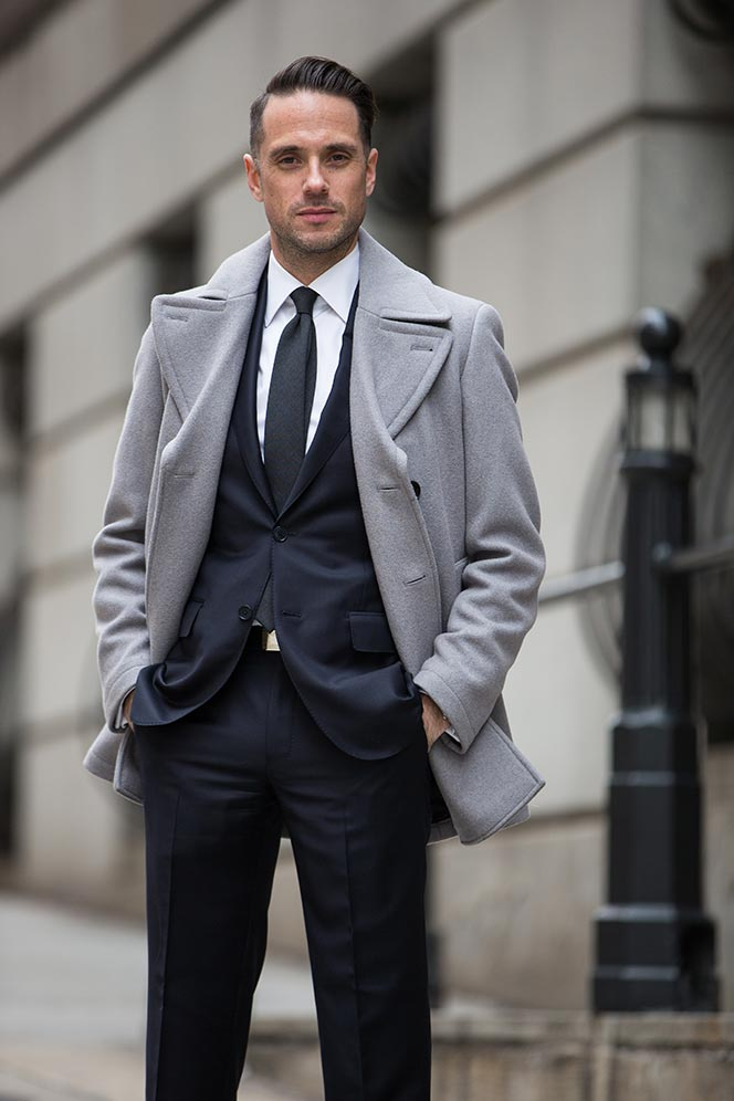 dark navy suit mens business outfit ideas