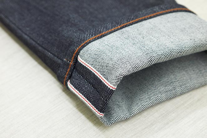 selvedge denim jeans fabric history