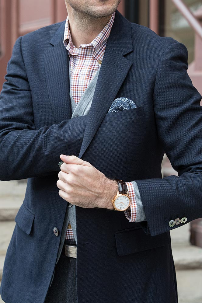 how-to-layer-cardigan-under-blazer-navy-grey-pants-smart-casual-business-outfit-idea-men-6