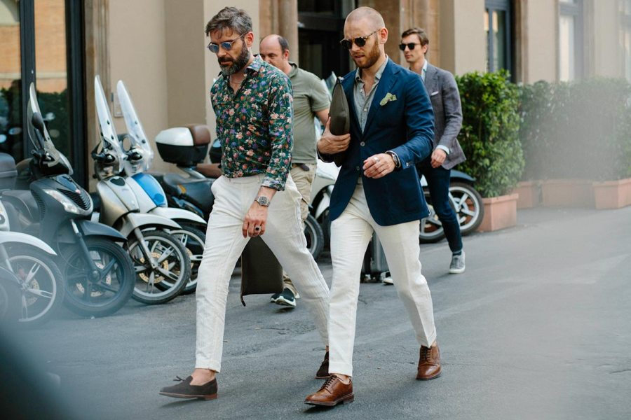 best pitti uomo street style