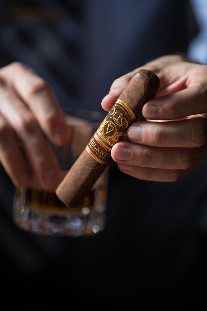 oliva serie v melanio cigar review