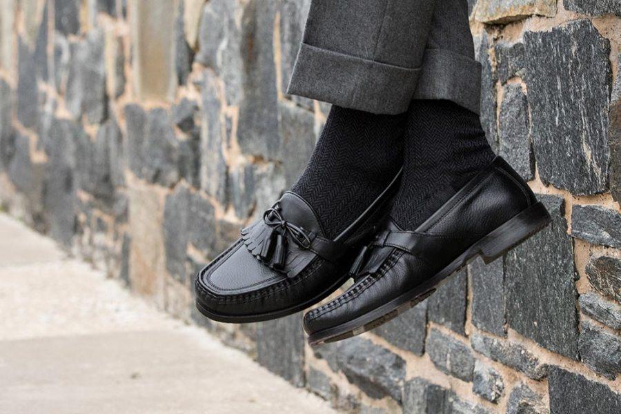 kiltie tassel loafers