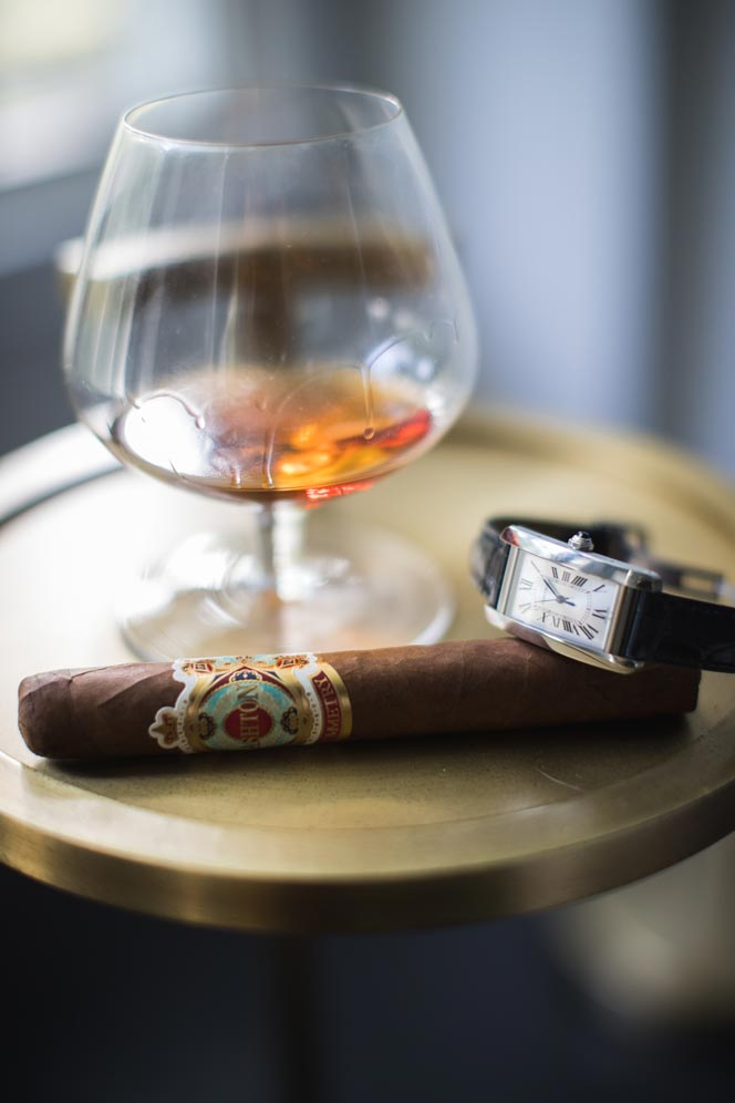 cigar pairing cognac