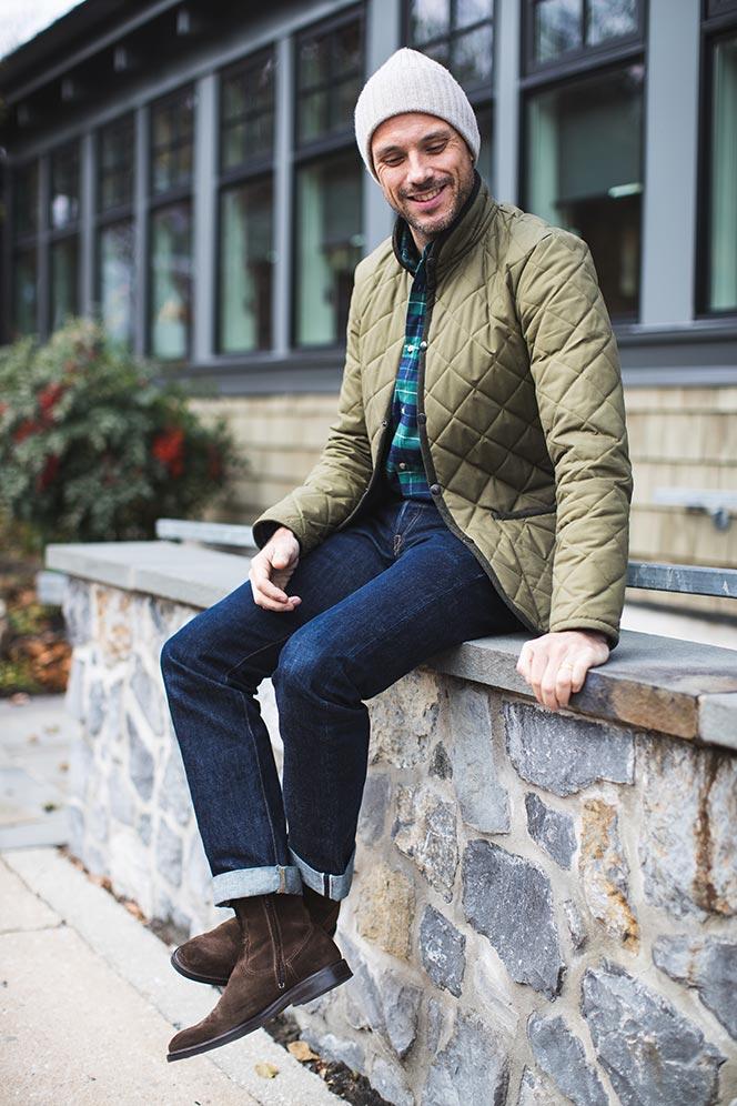how to wear tartan plaid shirt guys