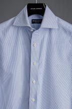 Blue Micro-Stripe Dress Shirt