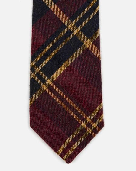 seaward stearn tartan plaid tie