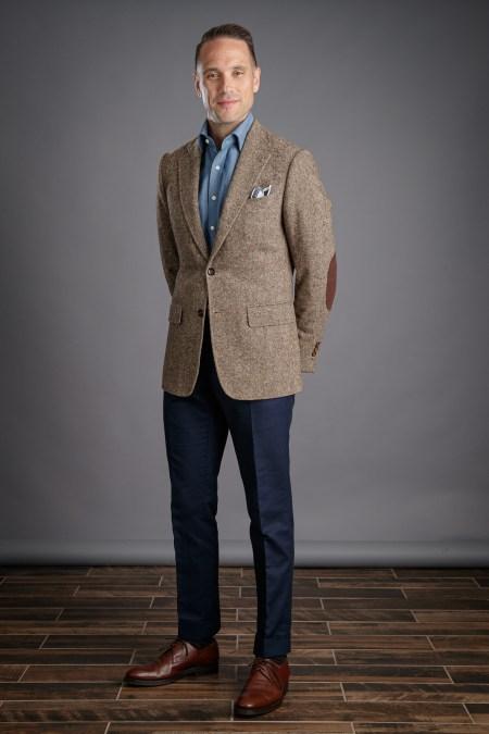 Donegal Tweed Sport Coat