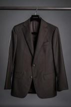 Brown Sharkskin Suit