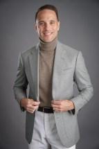 Light Grey Flannel Sport Coat