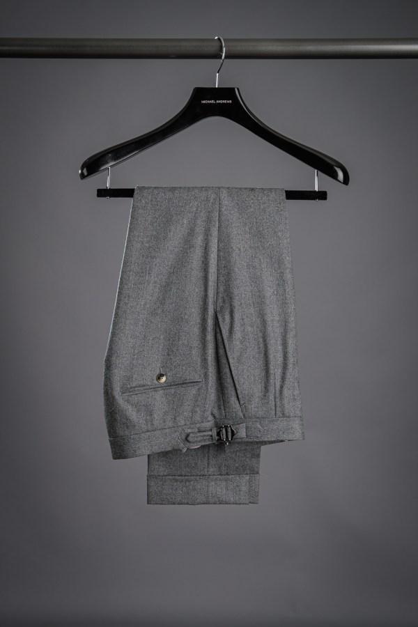 Mid-Grey Flannel Pants