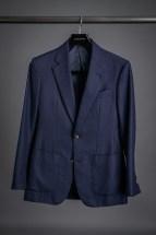 Navy Blue Hopsack Sport Coat
