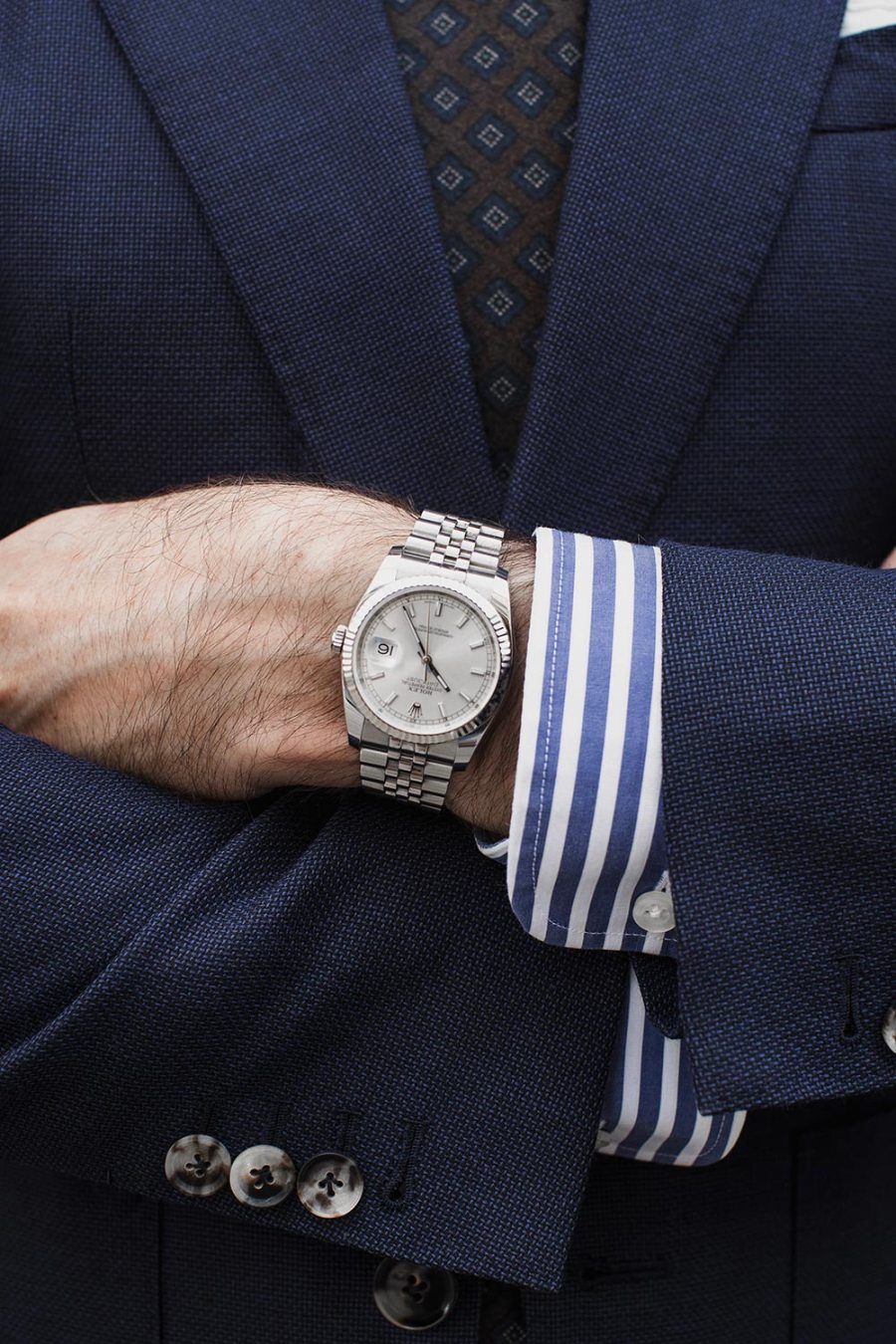 rolex-datejust-with-navy-suit