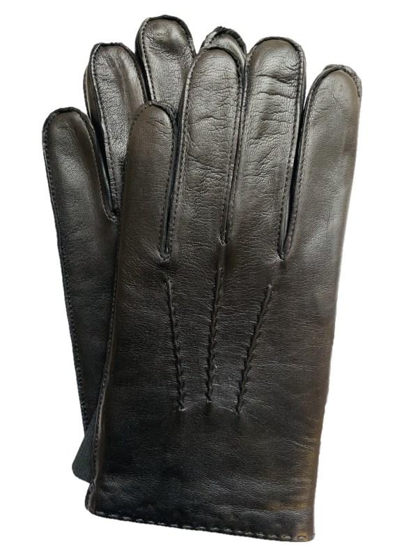 Handsewn Lambskin Black Dress Gloves