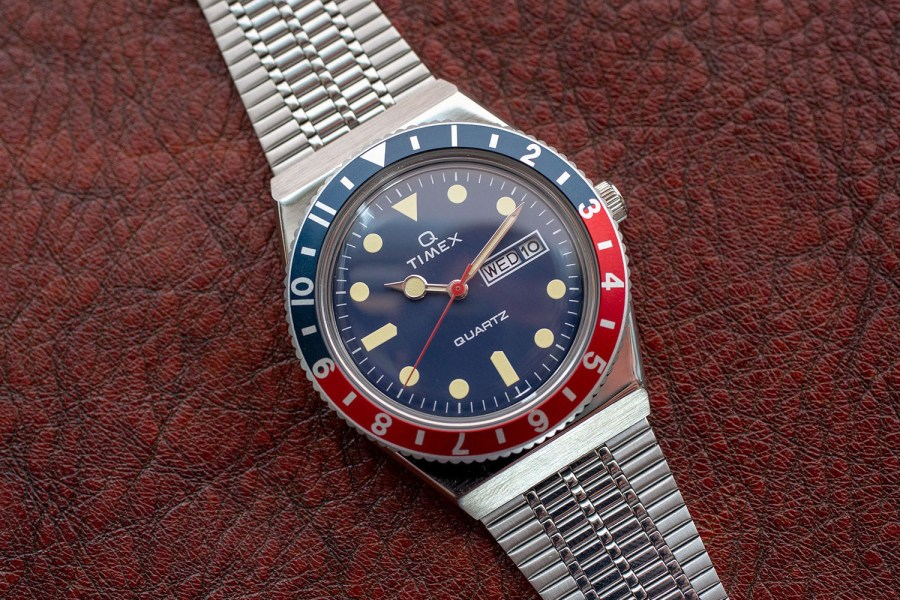 how-to-wear-a-colored-bezel-timex-q-reissue-watch