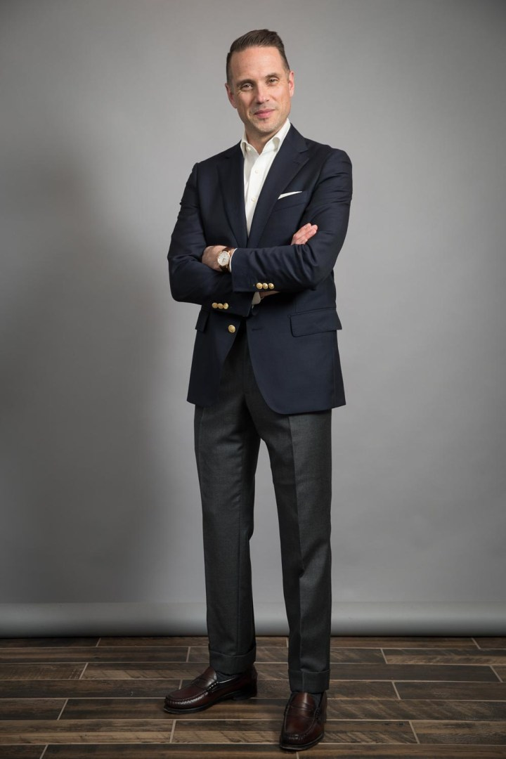 classic-navy-blazer-and-penny-loafers-he-spoke-style-michael-andrews-bespoke