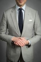 grey fresco suit
