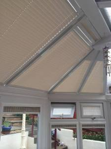 Perfect fit roof blind and window blind installation