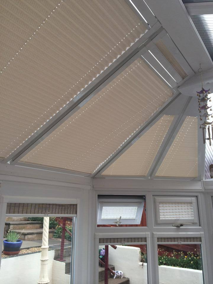 Perfect fit roof blinds and pleated window blinds