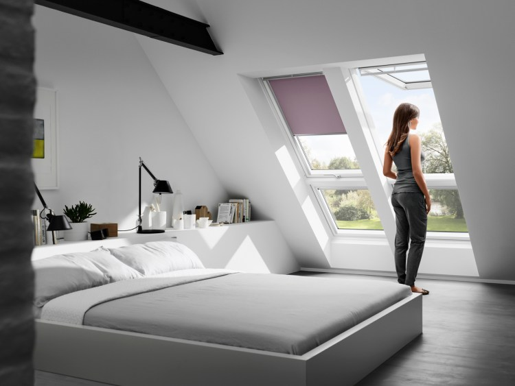 Velux roller blinds example