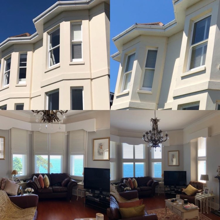Shutters fitted Victorian villa