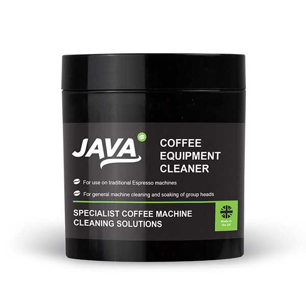 Java coffee machine cleaner