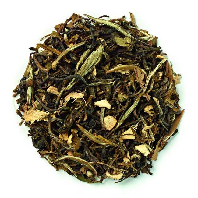 Novus white pear and ginger tea