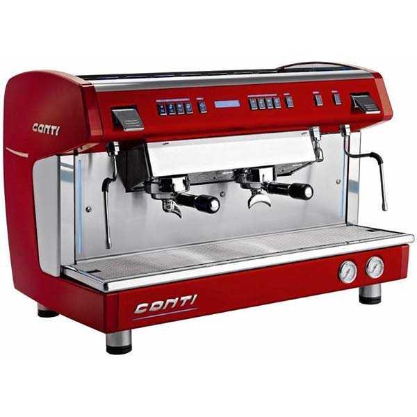 Xdci red espresso machine