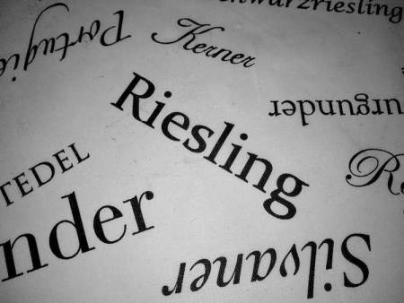 Riesling Text Weinproben Bed & Wine
