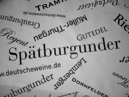 Spätburgunder Text Weinproben Bed & Wine