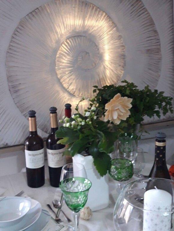 Bed & Wine in Hessigheim Weinprobe Römerabend Kristallglas Weinevents