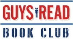 Guys Read book club logo