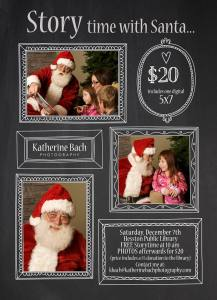 Santa Photo Ad 2013