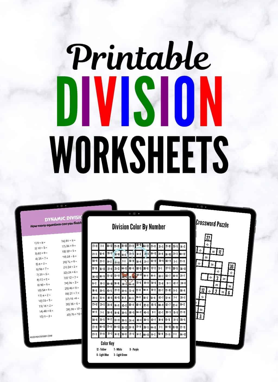 Division Practice Worksheets