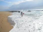 I have the beach to myself