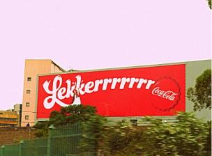 Coca-Cola is lekker