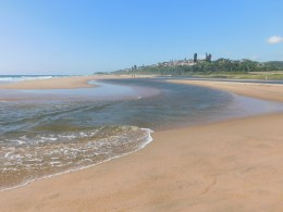 Mtwalume River mouth
