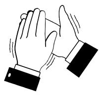 Men kan niet klappen met één hand