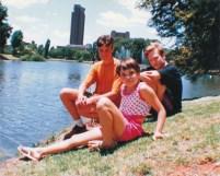 Bloemfontein 1993 Loch Logan voor die fonteine