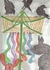 Serpent Prayer Flags
