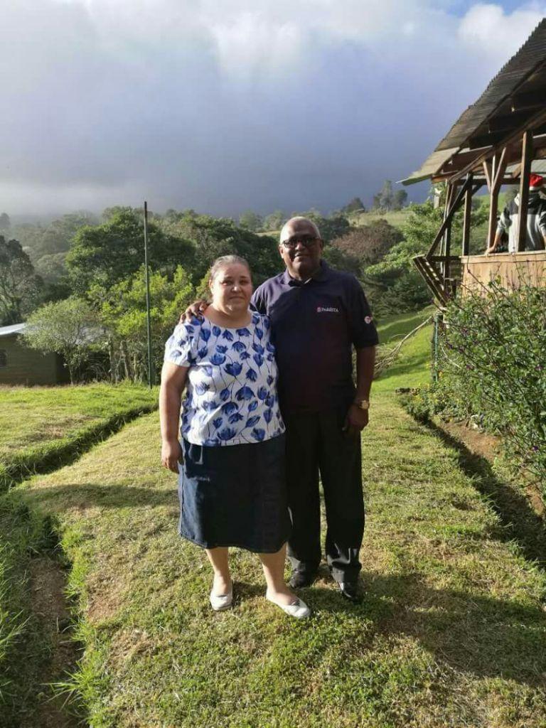 Jorge en Sonia Yrena (Costa Rica)